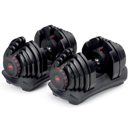 Paire d'haltères réglables SelectTech Bowflex 1090i