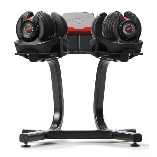 Pack Paire d'haltères réglables 552i avec support stand SelectTech Bowflex 552i