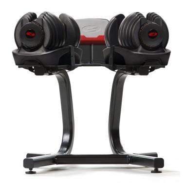 Pack Paire d'haltères réglables 1090i avec support stand SelectTech Bowflex 1090i